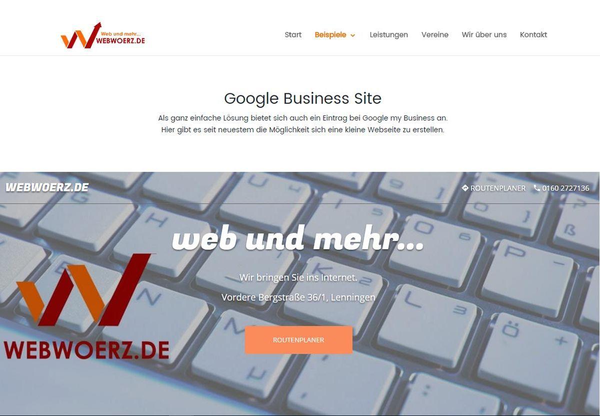 google-business-seite