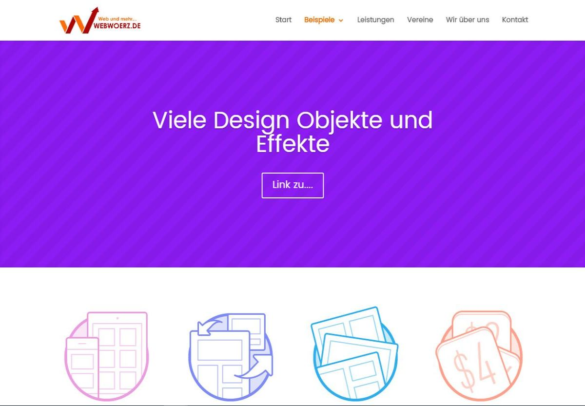 webwoerz.de Design